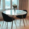 Giovani velvet stol Svart Mässing 699 kr Trendrum.se