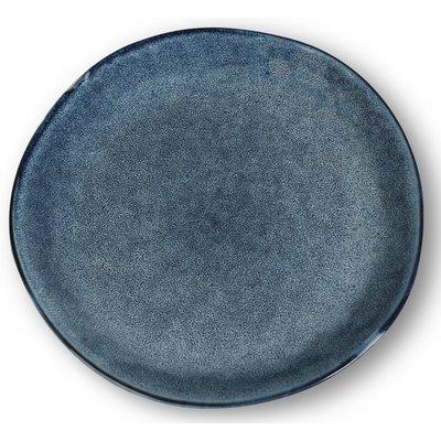 Dreja tallrikar 4 st i ett set - Blå