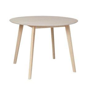 Nordic matbord runt - Vitoljad ek thumbnail