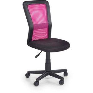 Clarissa skrivbordsstol - Svart/rosa