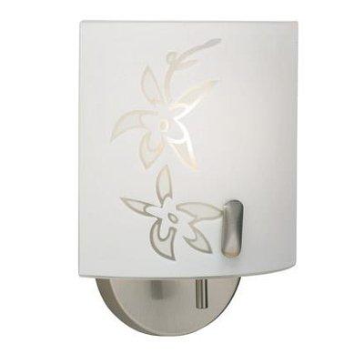 Orchid Vägglampa - Frostat glas