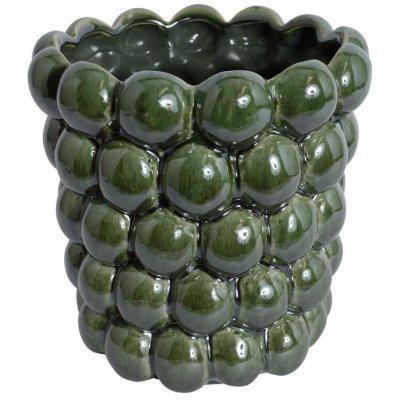 Vas Big Bouble H23 cm - Grön
