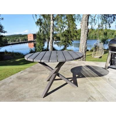Scottsdale matbord runt 112 cm -Shabby Chic