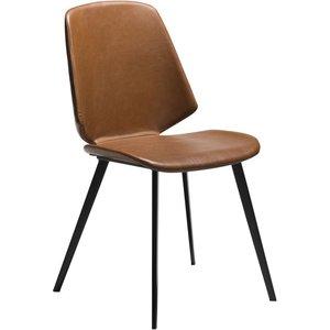 Swing matstol - Vintage ljusbrun