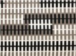 Ullmatta Fence - Svart/grå