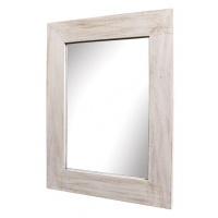 Spegel flat - Vit 72x92 cm