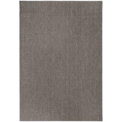 Flatvävd matta Eleanora - Antracit