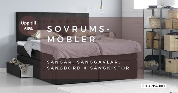 Sovrumsmöbler - Upp till 66%