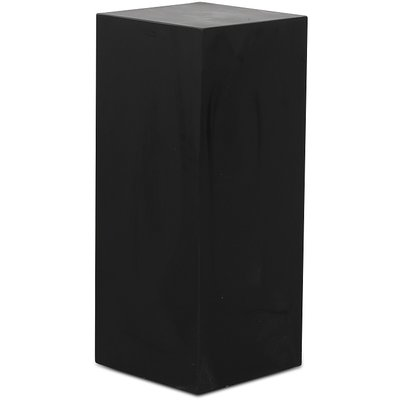 Piedestal LineDesign wood 90 cm - Svart