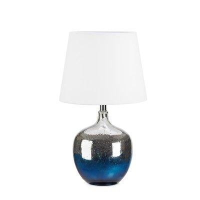 Ocean Bordslampa - Blå/Krom/Vit