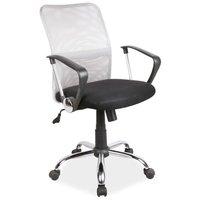 Elaine skrivbordsstol - Svart/grå