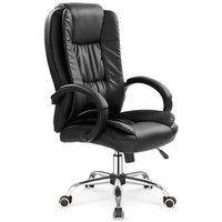 Bojan skrivbordsstol - Svart (Konstläder)