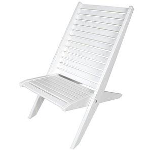 Miami strandstol - Vit