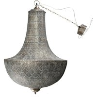 Taklampa Stace 96x64 cm - Old antique