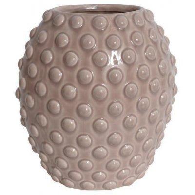 Vas Bouble H25 - Rosa (glansig)
