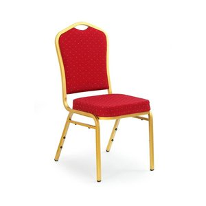Mallory stol - rödbrun