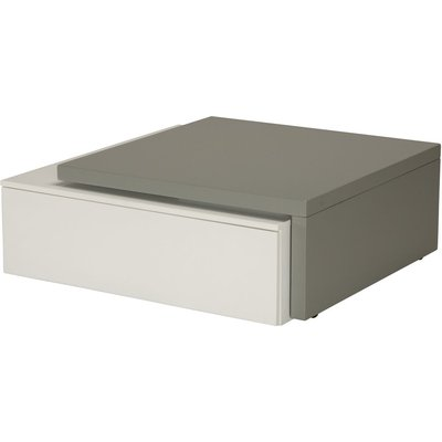 Huddinge soffbord - Vit/grå