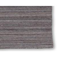 Handvävd ullmatta Island - Brun/grå - 140x200 cm