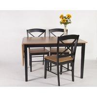 Kreta matgrupp - Bord inklusive 4 st stolar