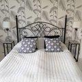 Accent sängbord/piedestal 65 - Vit marmor
