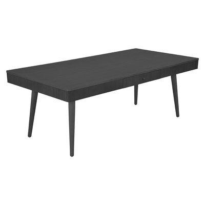 Nils soffbord rektangulärt - Svartbetsad ek