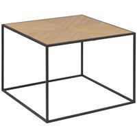 Midland soffbord - Ek/svart