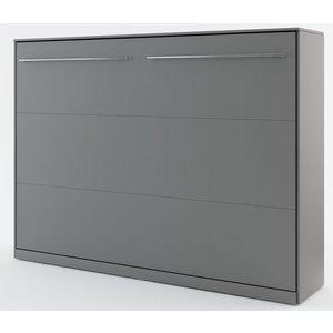 Sängskåp compact living Horisontellt (140x200 cm fällbar säng) - Grå