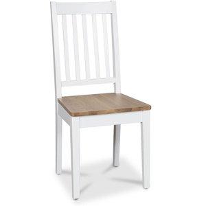 Österlen Simris stol - Vit/eksits