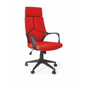 Cecylia kontorsstol - Svart/röd