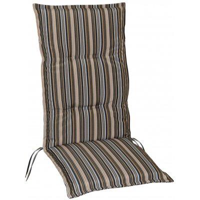 Vinge dyna till positionsstol och hammock - Beige/Svart/Vit/Brun (randig)