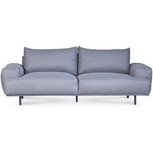 Cozy lounge 3-sits soffa 236 cm - Grå & 7490.00