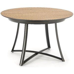 Colton runt matbord 118 till 148 cm - Ek/svart