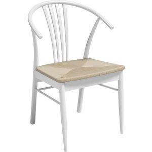 Agneta stol - Vit