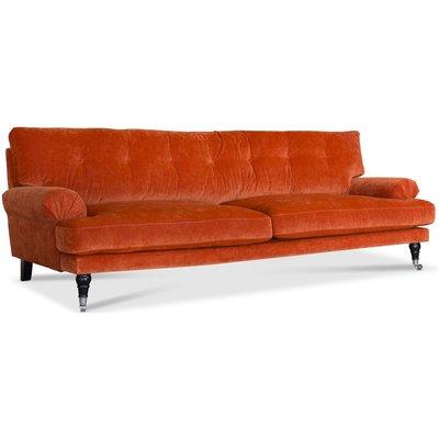 Dallas 3-sits soffa svängd modell - Valfri färg!
