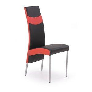 Cheyenne stol - svart/röd