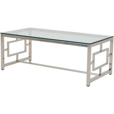 Åre soffbord - Glas/krom