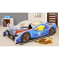 Louie racerbil barnsäng - Valfri färg och storlek!