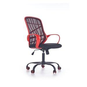 Evie kontorsstol - Svart/röd