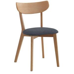 Catherine stol - Ek/grå