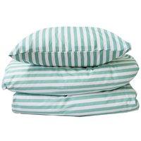 Bäddset - Stripe lightgreen