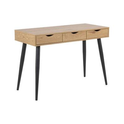 Arvada skrivbord - Ek/svart