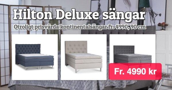 Hilton Deluxe Presley kontinentalsäng 6990 kr