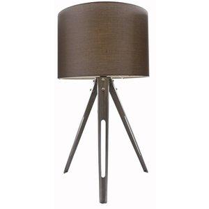 Bordslampa Tripod - Grå metall