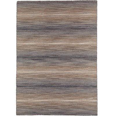 Handvävd matta - Himalaya - Grå - Ull