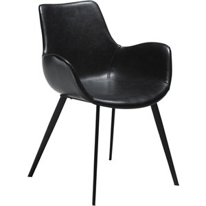 Hype karmstol - Vintage svart