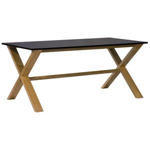 Artic matbord 220 cm ek / svart