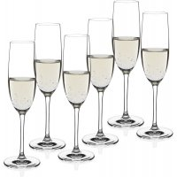 Sontell champagneglas i kristall - 6 st