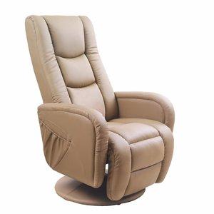 Bibi reclinerfåtölj - Beige PU