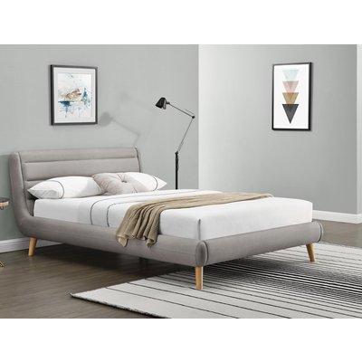 Bernard säng - Ljus grå