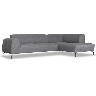Corona soffa - Öppet avslut höger - Grå